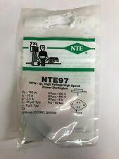 NOS NEW NTE Electronics NTE97 Silicon NPN Transistor HV Darlington Power Amp