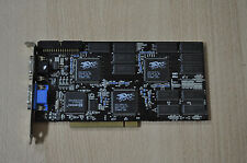 VooDoo 2 12MB EDO-RAM 3Dfx RARE PCI VIDEO CARD Working 500-0010-01 GENDAG !!