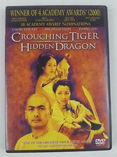 Crouching Tiger, Hidden Dragon (DVD, 2001, Widescreen) Mandarin Audio