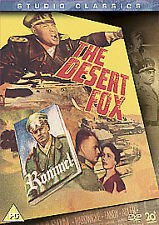 THE DESERT FOX (SLIM CASE) - DVD**USED VERY GOOD** FREE POST**