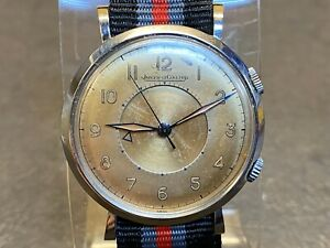 JAEGER LECOULTRE Stainless Steel MEMOVOX Mechanical Watch Cal P489/1