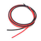 6ft 14AWG Flexible Silicone Tinned Copper Wire 400-Strand 600V 200°C