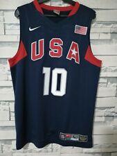 Kobe Bryant USA 2008 Olympic Redeem Team jersey. Away version large
