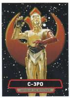 2015 Star Wars Journey To The Force Awakens Heroes Resistance 6 C-3PO Topps