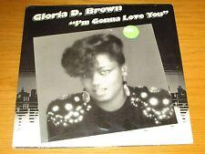 """SEALED SOUL 12"""" EP - GLORIA D. BROWN - KRYSTAL LABEL - """"I'M GONNA LOVE YOU"""""""