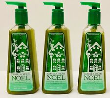 3 Bath & Body Works Vanilla Bean Noel Deep Cleansing Hand Soap 8 fl oz