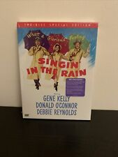 """Singin in the Rain """"Two-Disc Set Special Edition� Dvd Set - Brand New - Sealed!"""