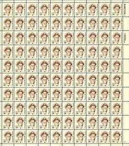 US #1869 50c Chester Nimitz Sheet MNH VF+ (CV $150 F-VF)