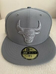 Chicago Bulls New Era Color Pack 59FIFTY 5950 Hat Gray CMFT Low Jordan 11 NEW