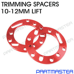 Isuzu DMAX D-MAX TFS85 4WD Front Coil Spacers Strut Trimming Level Lift 10-12mm