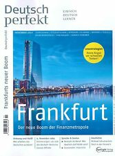 Deutsch perfekt, Heft November 11/2014: Frankfurt - inkl. deins! +++ wie neu +++