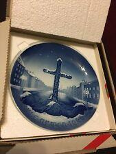 Bing & Grondahl – B&G – Annual Christmas Plate – Commemoration Cross – 1946 Wbox