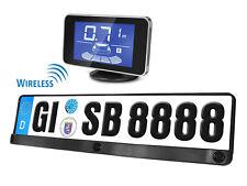 Kit 3 Sensori Di Parcheggio Wireless Portatarga Standard EU Display Led 12V