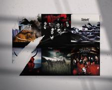 Slipknot - Album Collection Tribute Wall Art Album Covers Poster Giclée Print