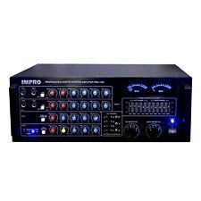 Impro Pma-1200 Karaoke Mixing Amplifier 1200 Watts w Bluetooth + Optical Input