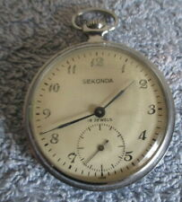 USED Vintage Seconda Russian pocket watch working