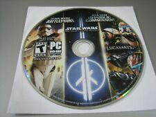 Star Wars Battlefront, Star Wars Republic Commando & Star Wars Jedi Outcast (PC)