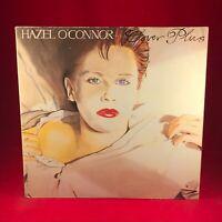 HAZEL O'CONNOR Cover Plus 1981 UK Vinyl LP + POSTER + INSERT EXCELLENT CONDITION