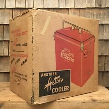 Original COCA COLA Drink Bottle ACTION Portable Cooler BOX ONLY Cool Advertising