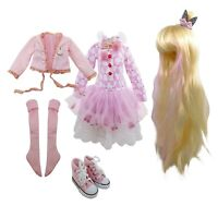 "Clothes Wig Shoes jointed dolls PVC Soft Head 1//8 Boy 15cm 5.9/"" SD BJD Doll"