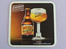 Beer Sous-Bock Coaster ~ Brouwerij Van Honsebrouck KASTEEL Tripel Bier ~ BELGIUM