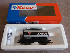 WAGON DC MARCHANDISE CITERNE DEA DB ROCO HO coach waggon+boite box 46071 R67