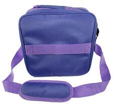 Large Violet Essential Oils Travel Bag+5 ml Dropper Bottle