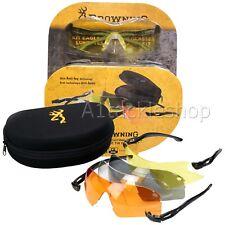 Browning Eagle Shooting Eye Protection Glasses for Shotgun and Rifle