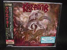 KREATOR Gods Of Violence + 1 JAPAN CD Tormentor Darkness Voodoocult
