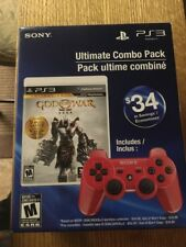 New/ Sealed God Of War Ultimate Combo Pack 5 Games And Red Controller Sony PS3