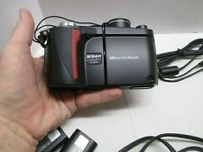 Nikon COOLPIX 4500 4.0MP Digital Camera - Black. Red Stripe /  2 Batteries ENEL1