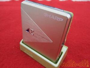 SHARP Portable MD player MD-DS5-G 30100214 F/S  from JP Very Good USED