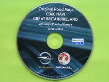 NAVIGATION OPEL CD 60 NAVI CD 80 NAVI ENGLAND IRLAND + EU 2014 ANTARA CORSA D