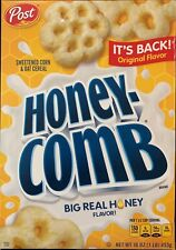 NEW POST HONEY COMB ORIGINAL FLAVOR CEREAL 16 OZ BOX FREE WORLD WIDE SHIPPING