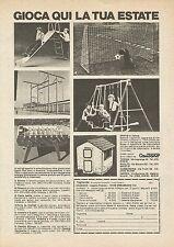 X7776 Caudano - Gioca qui la tua estate - Pubblicità 1976 - Vintage Advertising