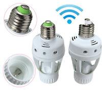 E27 LED Light Lamp Bulb Holder Socket Switch Infrared PIR Motion Sensor 110/220V