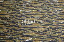 Tiger Stripe Camouflage Camo Twill Fabric