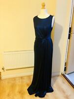 PHASE EIGHT NEW CARO COBALT BLUE SHIMMER EVENING DRESS, SIZE 10 PARTY CRUISE