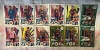 MATCH ATTAX EXTRA 2020/21 TEAM SET OF 12 BARCELONA CARDS INC SIGNATURE