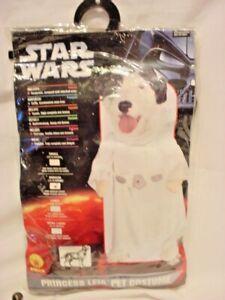 Rubies Star Wars Princess Leia Pet Dog Costume Size M