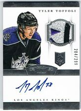 2013-14 DOMINION ROOKIE PATCH AUTOGRAPH RPA #161 TYLER TOFFOLI 204/299 ! 4 COLOR