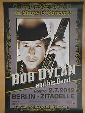 BOB DYLAN  2012  orig.Concert Poster  --  Konzert Plakat  A1  NEU