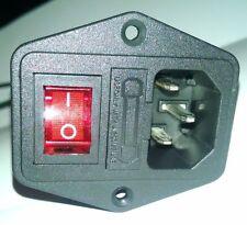 IEC320 C14 Power Socket 10A 250V for arcade power supply or DIY, 60 in 1