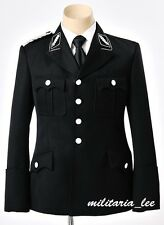 WW2 Repro German Elite Officer M32 Black Gabardine Tunic All Sizes