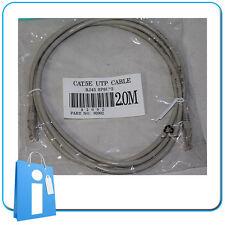 Latiguillo Cable de Red Ethernet RJ45 2 Metros Categoria 5