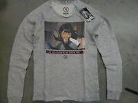 Boom Bap Sweatshirt - USL0024 - FACIAL CHAMP - mixed grey - round-Neck +Neu+