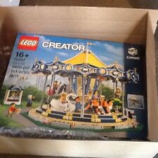Lego creator 10257 carousel theme park set new mint rare