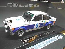 FORD Escort MKII Rallye RS1800 Waldegard Acropole Winner 1977 #6 Sunstar 1:18