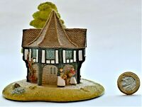 Vintage Lilliput Lane Flower Sellers 1991 Hand Made in Cumbria UK 11cm tall