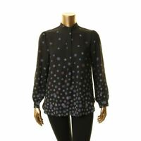 ANNE KLEIN NEW Women's Floral Printed Blouse Shirt Top TEDO
